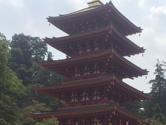 高幡不動尊金剛寺 五重の塔