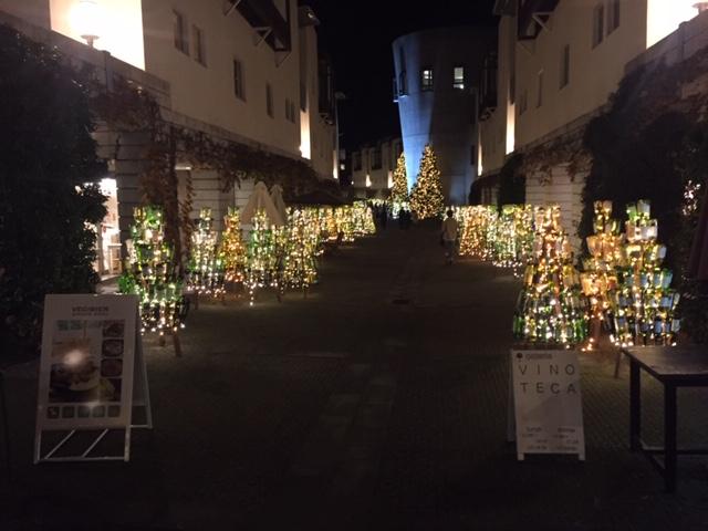 リゾナーレ八ヶ岳 夜の風景