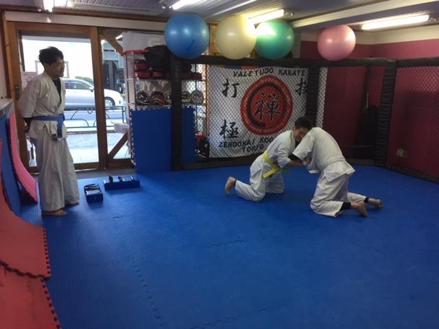 小金井道場朝クラス タッグマッチ1